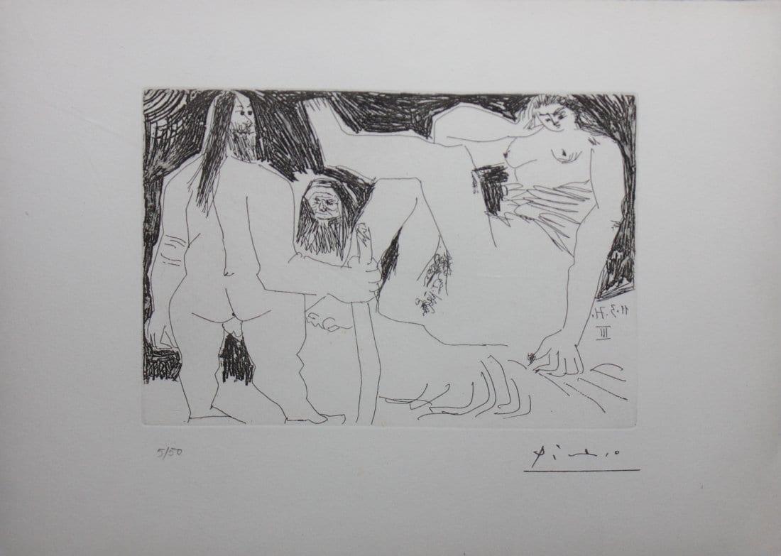 Homme Primitif, Celestine et Fille