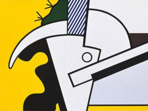 Lichtenstein-Bull_Head-II