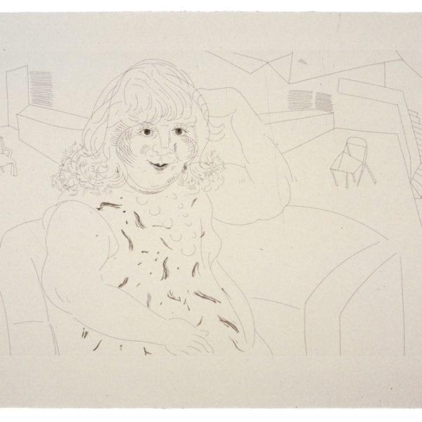 Ann in the Studio, 1984