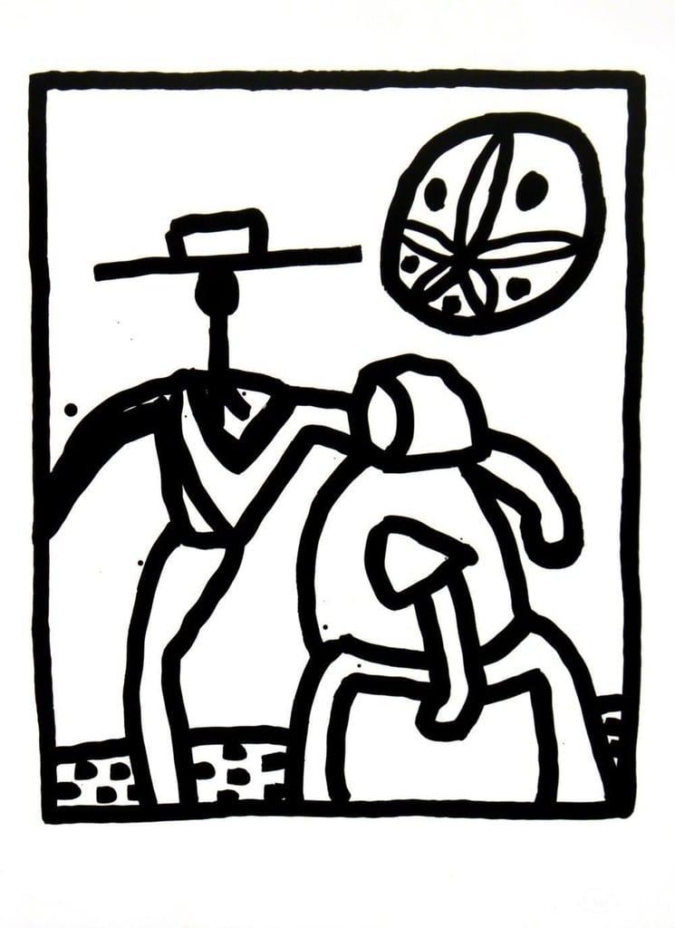 Keith-Haring-Kutztown-Couple