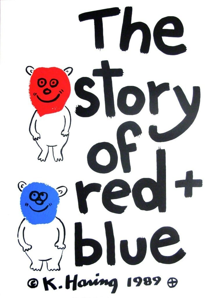 Keith-Haring-Story-of-Red&Blue5