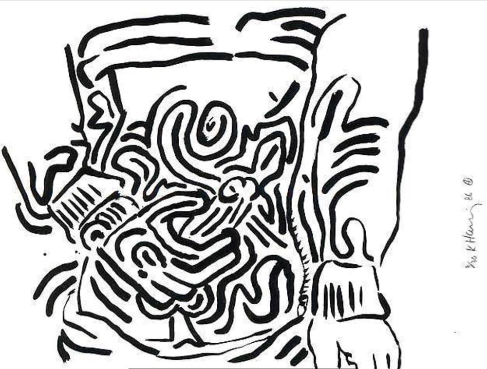 Keith-Haring-Untitled(BadBoys)