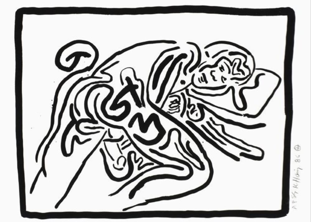 Keith-Haring-Untitled(BadBoys2)