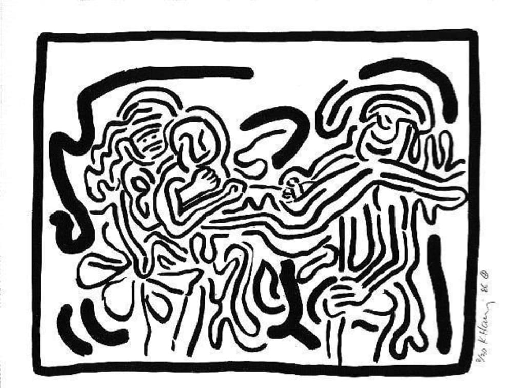Keith-Haring-Untitled(BadBoys4)