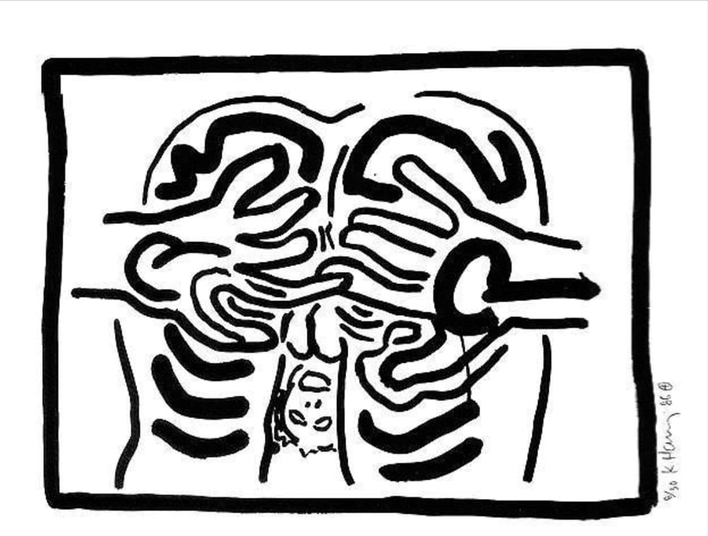 Keith-Haring-Untitled(BadBoys5)