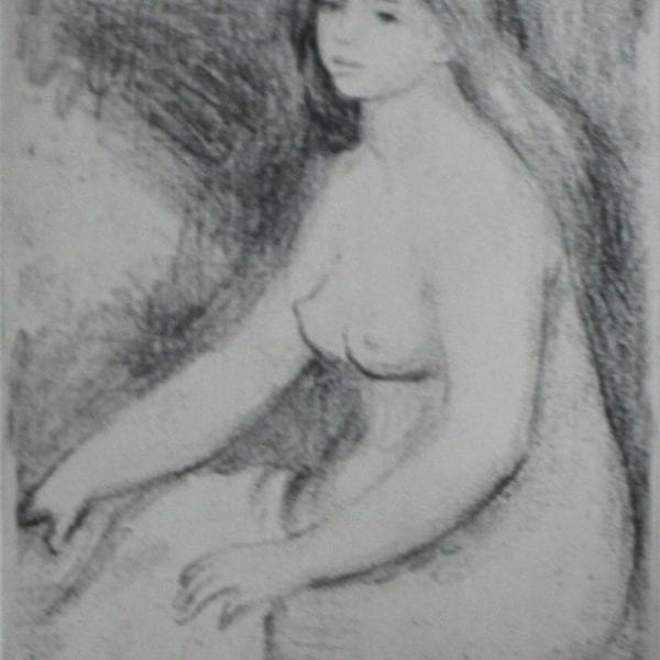 Baigneuse Assise, c. 1897