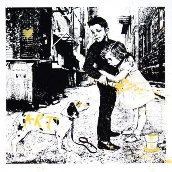 Pup Art (Yellow), 2012
