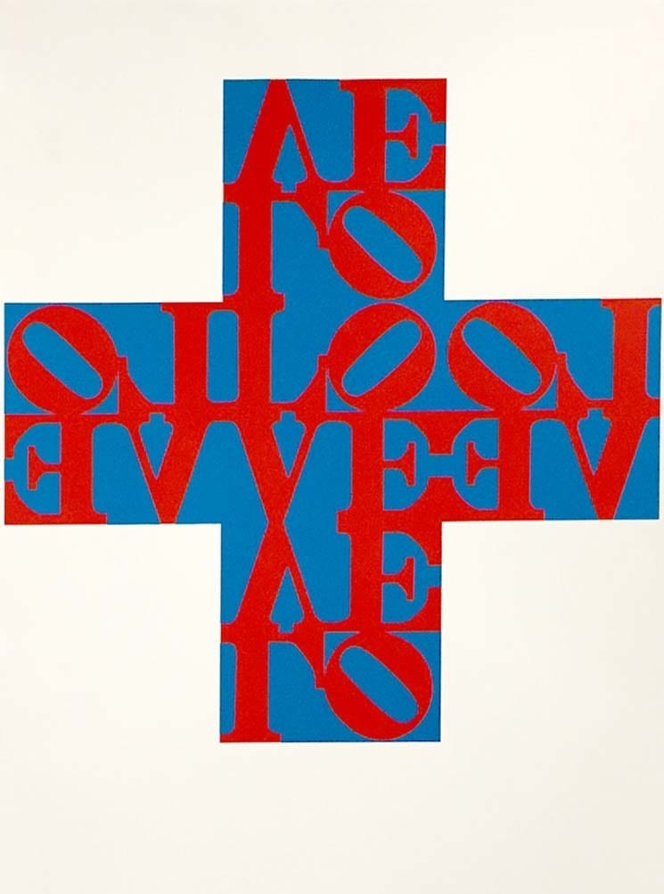 Robert-Indiana-Love-Cross