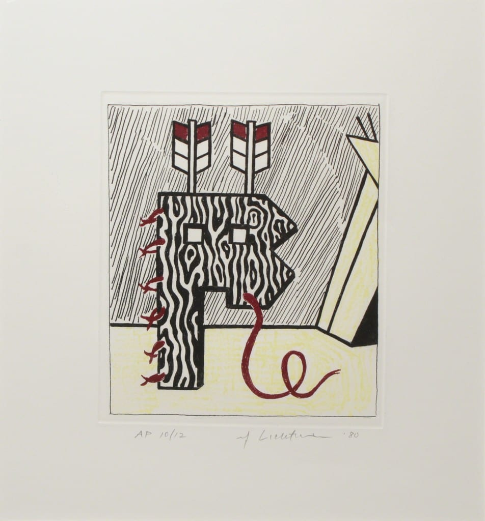 Figure with Teepee, 1980