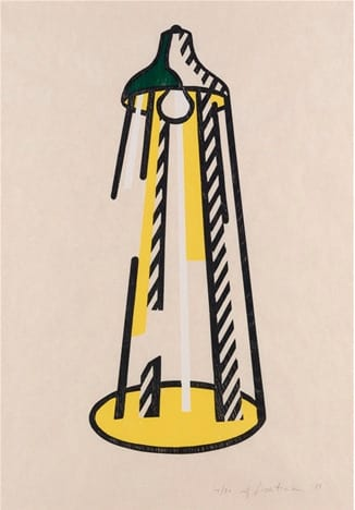Roy-Lichtenstein-Lamp