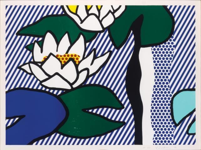 Roy-Lichtenstein-Les-Nympheas