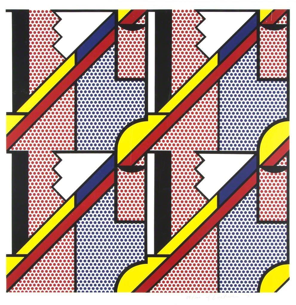 Roy-Lichtenstein-Modern-Print