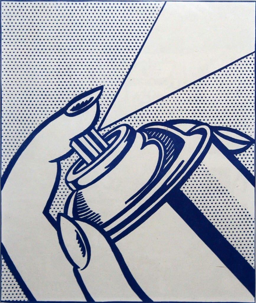 Roy-Lichtenstein-Spray-Can