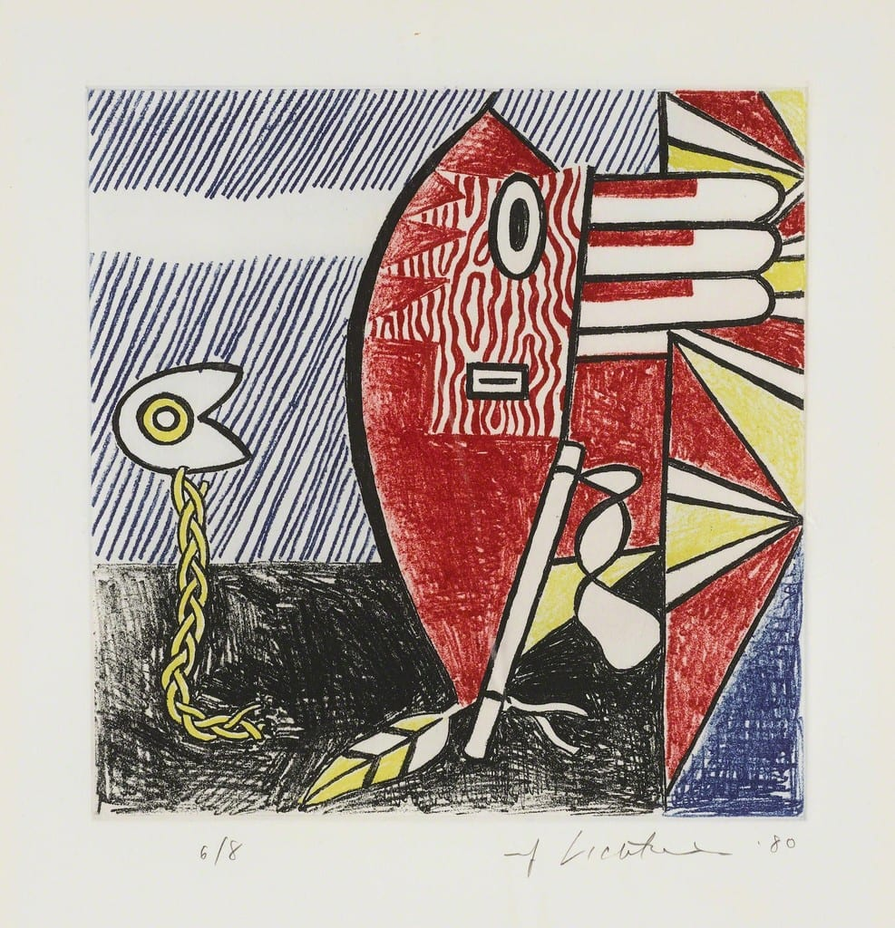 Roy-Lichtenstein-Untitled II