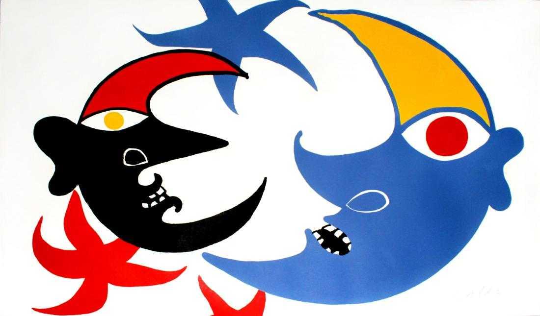 Lot 0053 - Alexander Calder - Two Moons