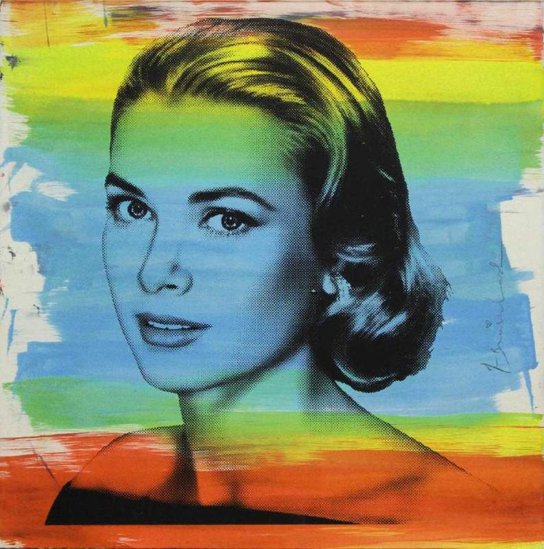 Lot_0055-_Mr_Brainwash_-_Grace_Kelly