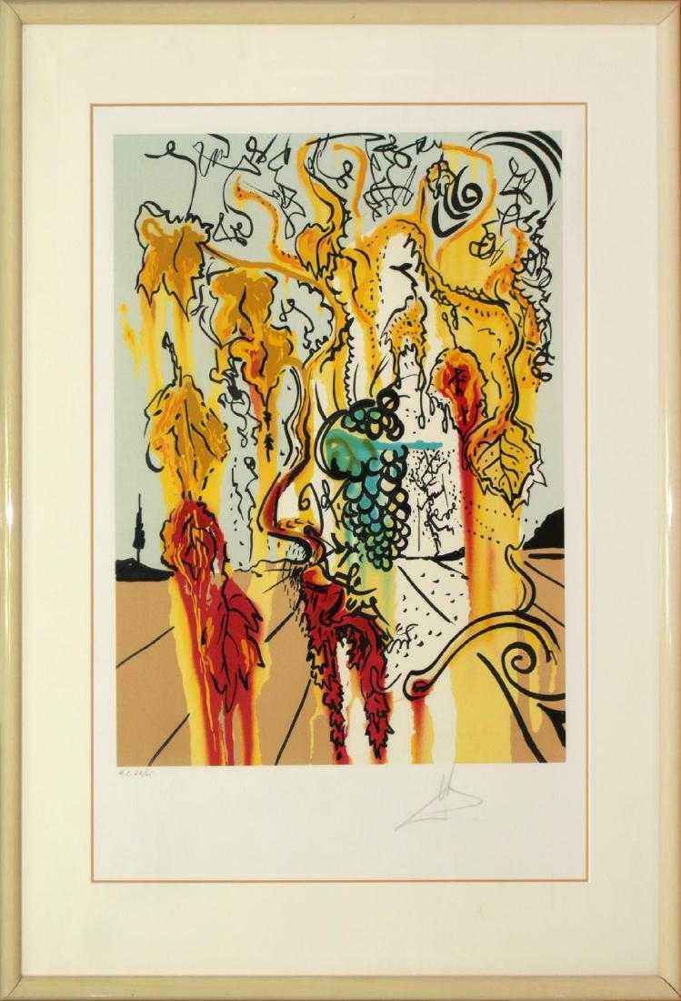 Lot 0212 - Salvador Dali - Portrait of Autumn