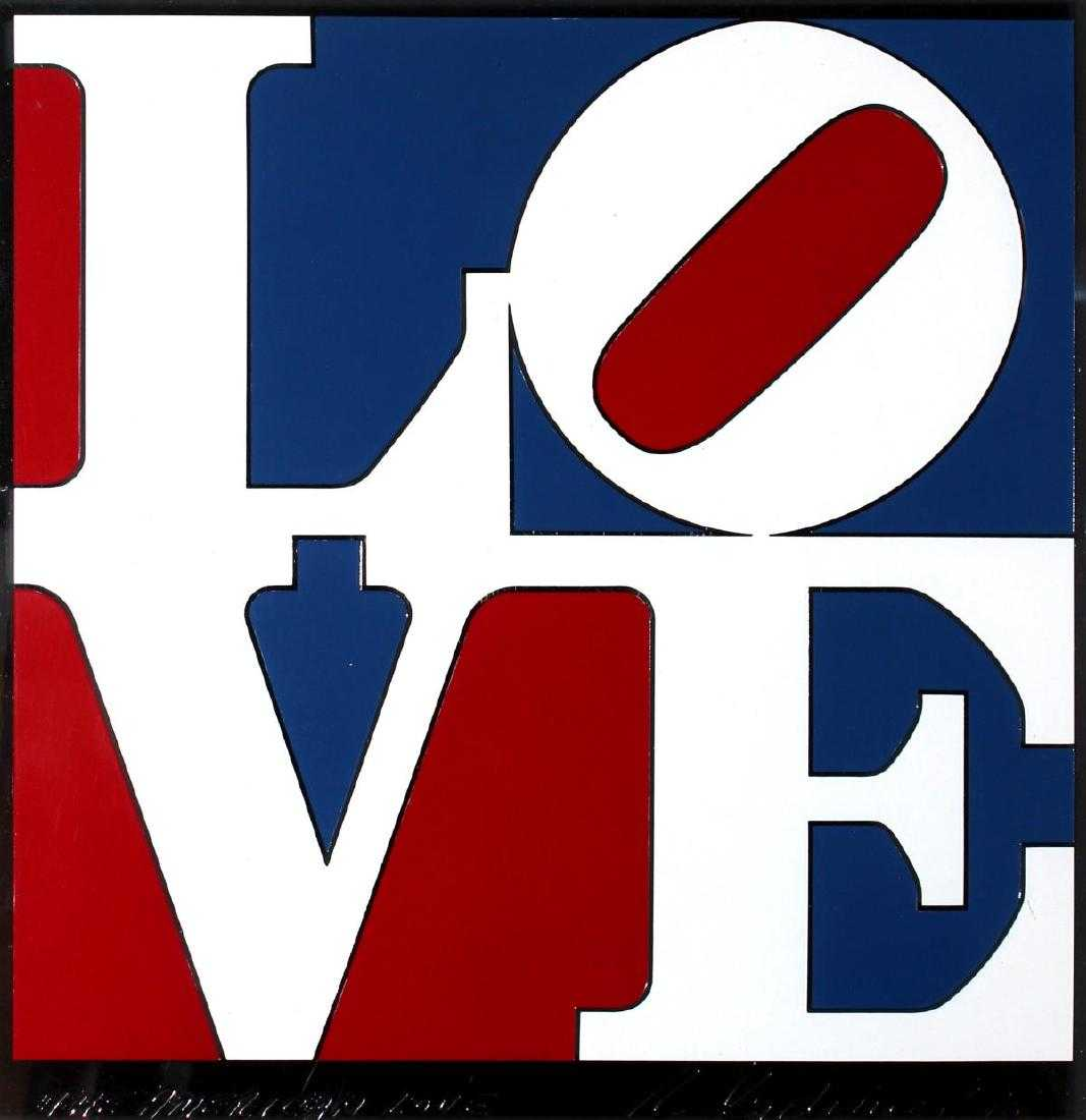 Lot 0746 - Robert Indiana - The American Love