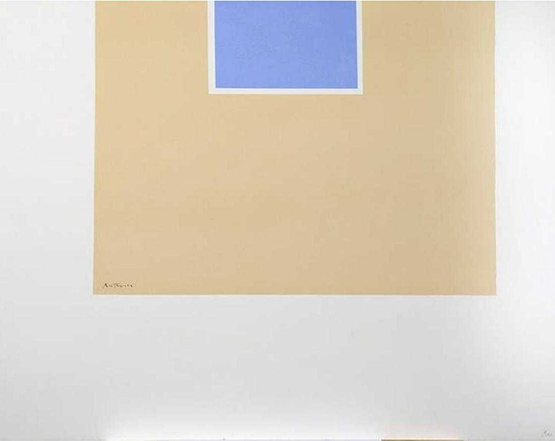 Lot 1085 - Robert Motherwell - Untitled (Blue Tan) from London