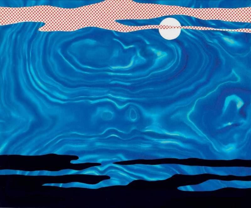 Lot_0007_-_Roy_Lichtenstein_-_Moonscape