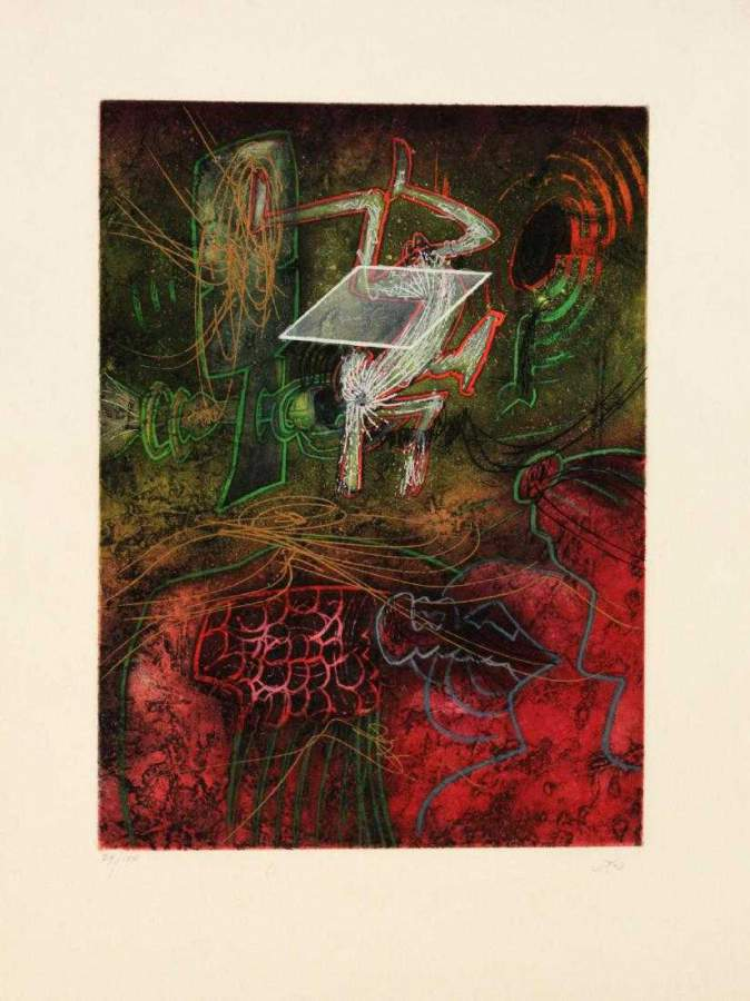 "UNTITLED from ""Une Saison en Enfer"", 1974"