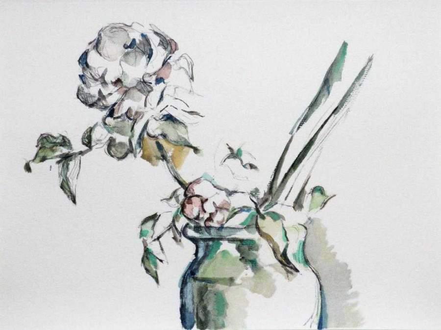 Roses dans un Vase, 1971