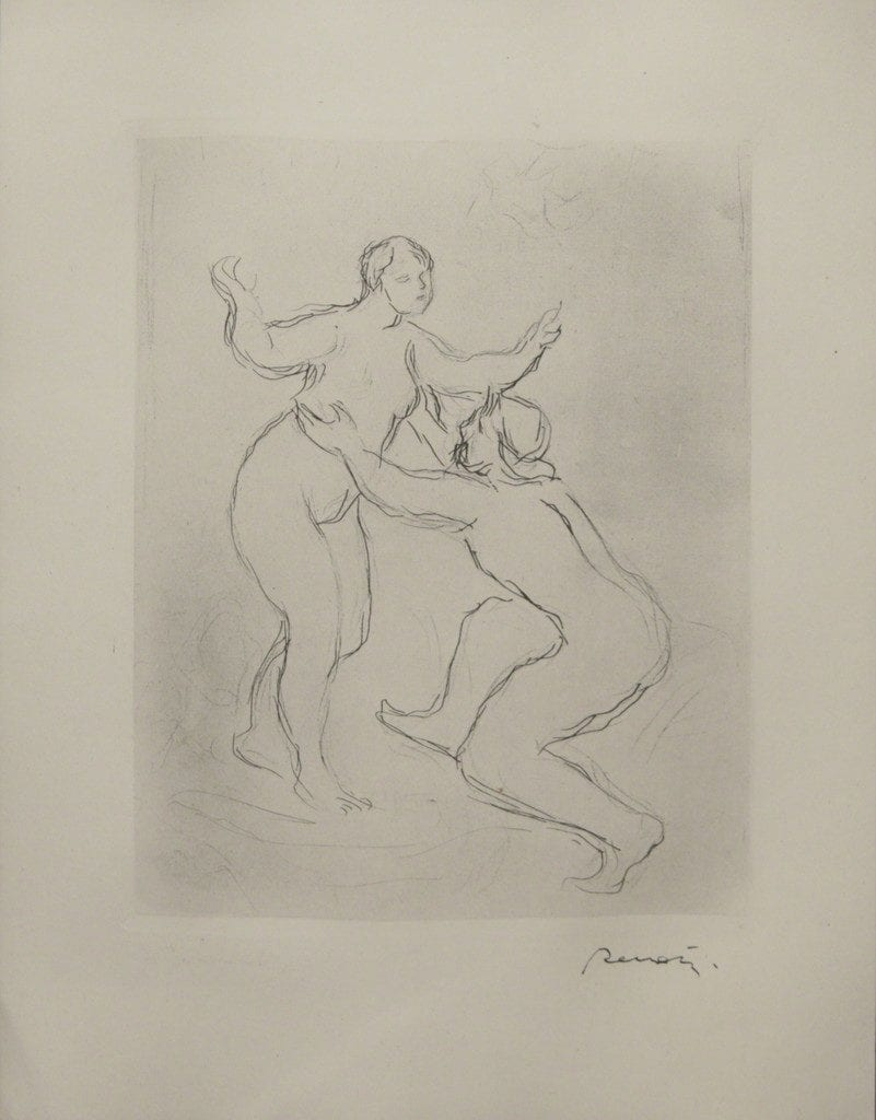 Le Fleuve Scamandre; 1st Planche, 1900