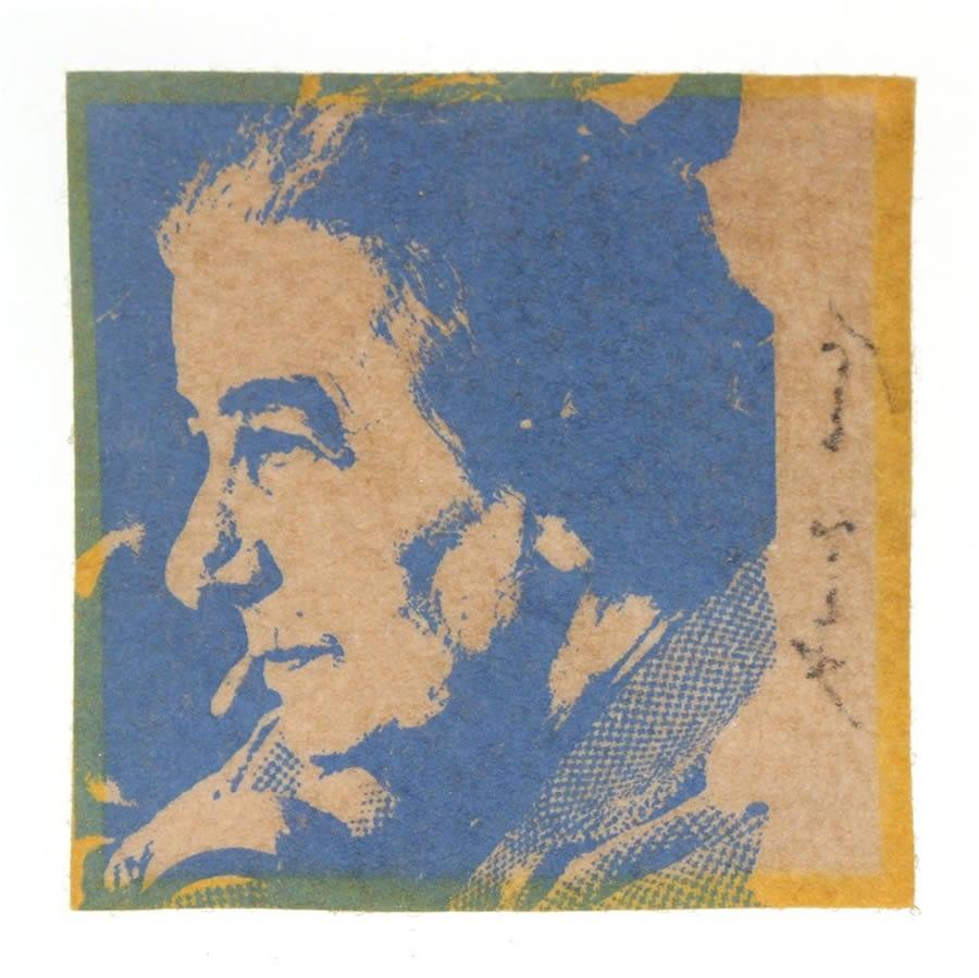 Andy Warhol- Golda Meir, 1973